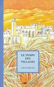 Le temps des villages - Couverture - Format classique