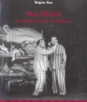 Max ehrlich ; le theatre contre la barbarie - Couverture - Format classique