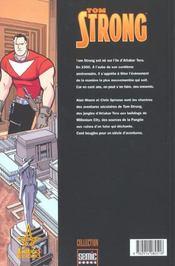Tom Strong T.2 - 4ème de couverture - Format classique