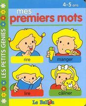 Livre Carton Educatifs : Mes Mots -4/5ans - Intérieur - Format classique