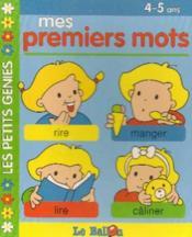 Livre Carton Educatifs : Mes Mots -4/5ans - Couverture - Format classique