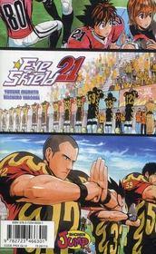 Eye shield 21 t.23 ; vers le grand affrontement... - 4ème de couverture - Format classique
