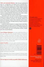 Haïti, une traversée littéraire - 4ème de couverture - Format classique