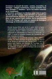 Images, Contes & Nouvelles De Dessous La Surface Des Choses - 4ème de couverture - Format classique