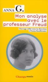 Mon analyse avec le professeur Freud - Couverture - Format classique