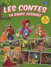 Les contes en bande dessinée ; vert - Couverture - Format classique