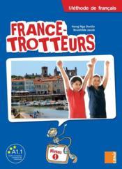 FRANCE-TROTTEUR ; livre ; niveau 1 - Couverture - Format classique