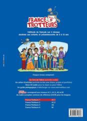 FRANCE-TROTTEUR ; livre ; niveau 1 - 4ème de couverture - Format classique