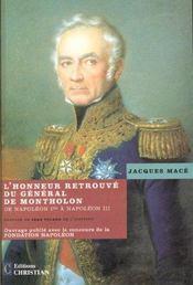 L'honneur retrouve du general de montholon - Intérieur - Format classique