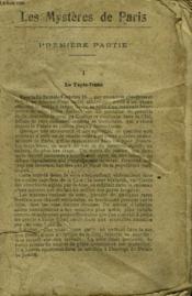 Les Mysteres De Paris. Collection Le Livre Populaire N° 28. - Couverture - Format classique