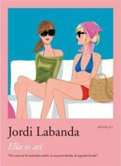Jordi Labanda Booklet 1. Ella Es Asi /Anglais - Couverture - Format classique