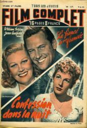 Stars Et Films - Tous Les Jeudis Film Complet N° 157 - Le Fiance De Ma Femme - Confession Dans Le Nuit - Couverture - Format classique