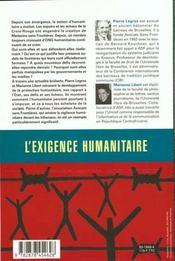 De La Solidarite A La Justice - 4ème de couverture - Format classique