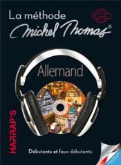 La méthode Michel Thomas ; allemand débutant - Couverture - Format classique