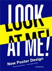 Look at me ! new poster design - Couverture - Format classique