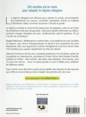 Céto cuisine ; 150 recettes cétogènes - 4ème de couverture - Format classique