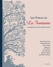 Les fables de La Fontaine illustrées par les plus grands artistes - Couverture - Format classique