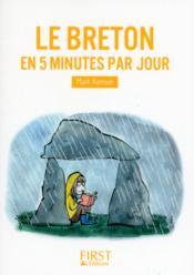 Le breton en 5 minutes par jour - Couverture - Format classique