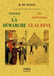 Théorie de la démarche ; les fantaisies de Claudine - Couverture - Format classique