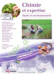 Chimie et expertise ; santé et environnement - Couverture - Format classique