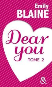 Dear you t.2 - Couverture - Format classique