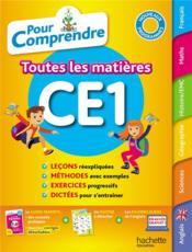 Pour comprendre toutes les matières ; CE1 - Couverture - Format classique