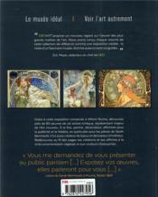 Mucha ; l'âme slave de l'Art nouveau - 4ème de couverture - Format classique