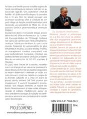 Du Djurdjura à Manhattan ; résilience, pouvoir et philanthropie - 4ème de couverture - Format classique