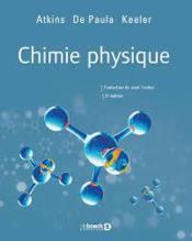 Chimie physique - Couverture - Format classique