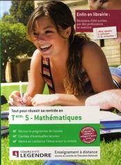 Tout pour réussir sa rentrée en terminale S ; mathématiques - Intérieur - Format classique