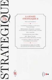Strategique t.76 - Couverture - Format classique