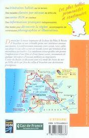 Autour du bassin d'arcachon a pied 2005 - 33 - pr - p331 - 4ème de couverture - Format classique