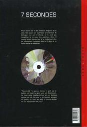 7 secondes t.1 ; venise - 4ème de couverture - Format classique