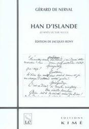 Han d'islande - Intérieur - Format classique