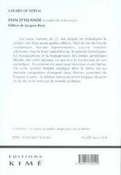 Han d'islande - 4ème de couverture - Format classique