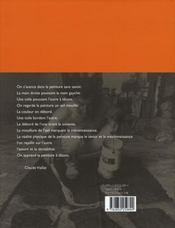 Claude viallat - 4ème de couverture - Format classique