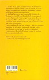 L'idéal chaviré - 4ème de couverture - Format classique