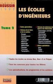 Les Ecoles D'Ingenieurs 1997 Vol .2 - Couverture - Format classique