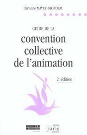 Guide de la convention collective de l'animation - 2e ed. - Intérieur - Format classique