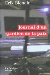 Journal d'un gardien de la paix - Intérieur - Format classique