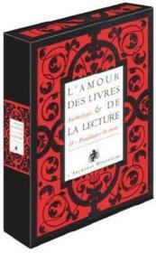 L'amour des livres et de la lecture ; coffret - Couverture - Format classique