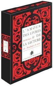 L'amour des livres et de la lecture ; coffret - Intérieur - Format classique