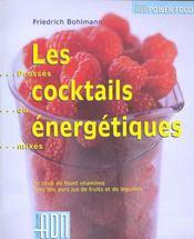 Cocktails energetiques - Intérieur - Format classique