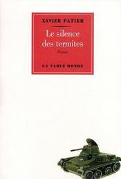 Le silence des termites - Couverture - Format classique