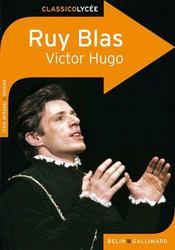Ruy Blas, de Victor Hugo - Couverture - Format classique