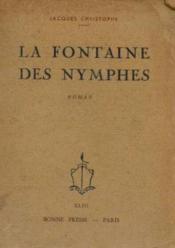 La fontaine des nymphes - Couverture - Format classique