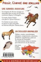 Pamir, cheval des steppes - 4ème de couverture - Format classique