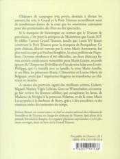 Les dames de Trianon - 4ème de couverture - Format classique