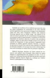 Soins intensifs - Couverture - Format classique