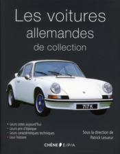 Les voitures allemandes - Couverture - Format classique